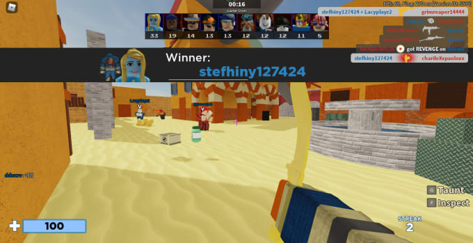 Roblox Arsenal Coach I Will Help You Get Your First Win By Stefhiny127424