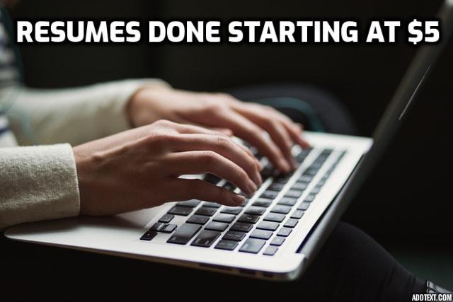 Good resume writing services toronto
