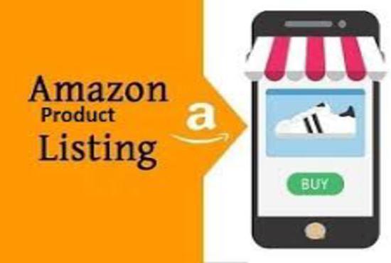design amazon product listing and write descriptions