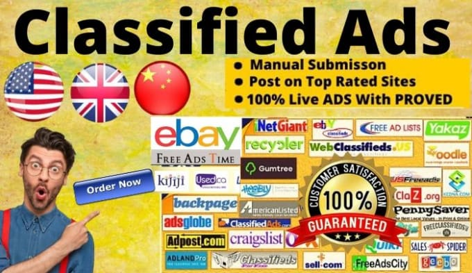 Do Usa Uk Canada Manually Classified Ad Posting In High Quality Sites By Tajulseo Expert