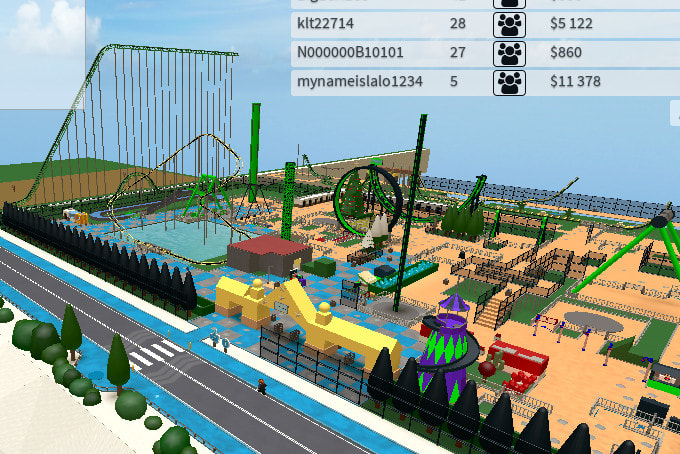 Roblox Themes Beta Make You A Great Roblox Theme Park Tycoon By Macks96