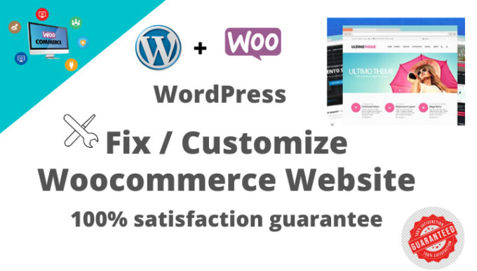 I will fix any woocommerce issues and customize themes in 24 hours