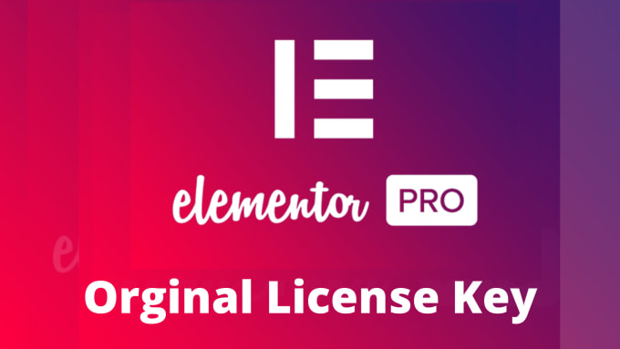 Install elementor pro with original license activated in ...