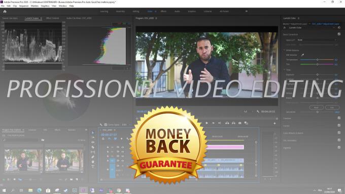 Full editing service