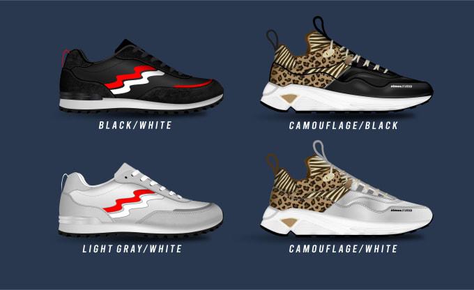 Create A Sneaker And Footwear Design
