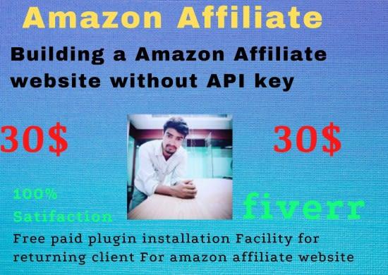Design The Best Amazon Affiliate Website Without Api Key