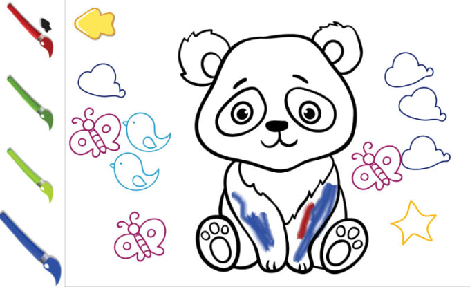 Create Coloring Educational Games And Apps For Kids By Design_apps Fiverr