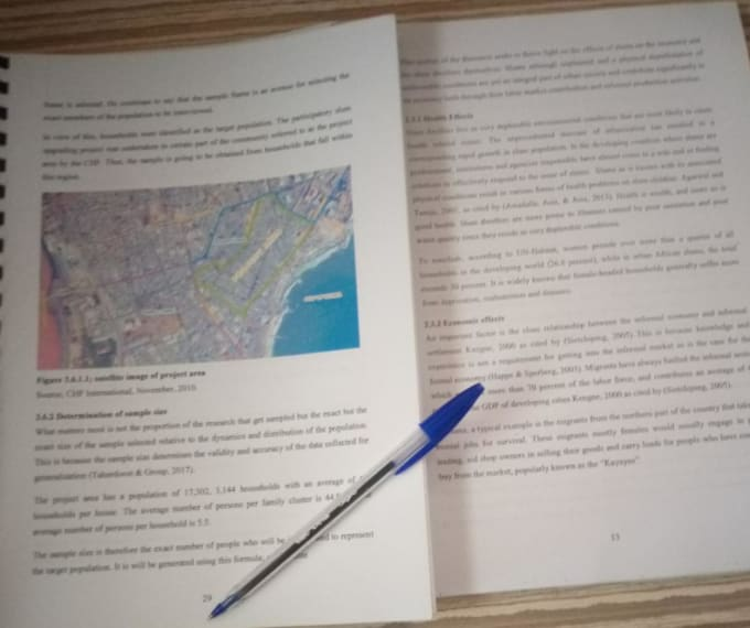 Offer research writing services
