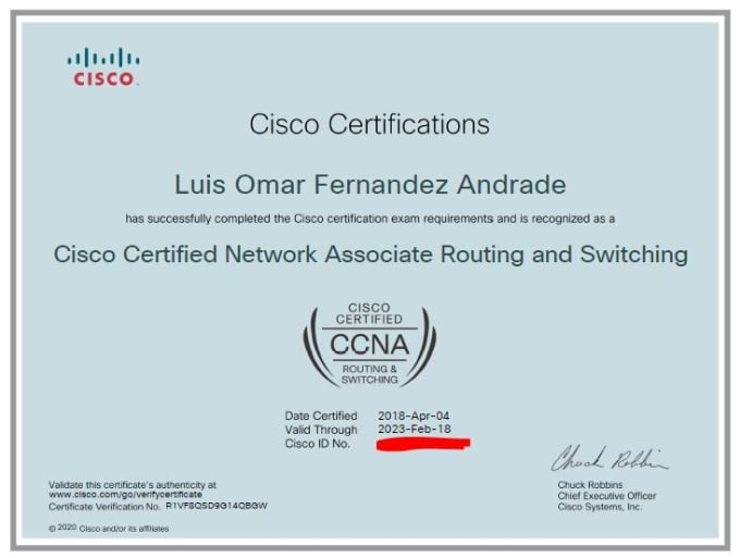 Assist You In Networking Tasks Ccna By Luisaphi