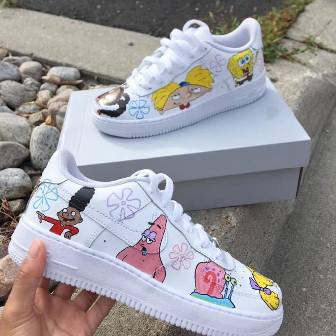 Customising your trainers all designs