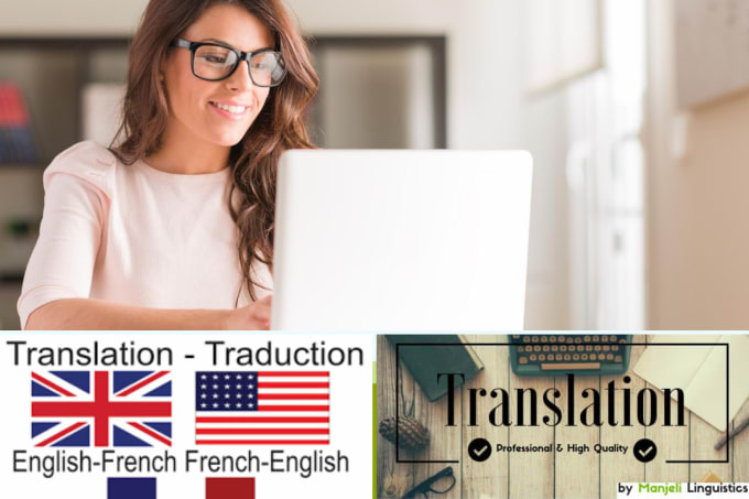 provide native english to french to english translations