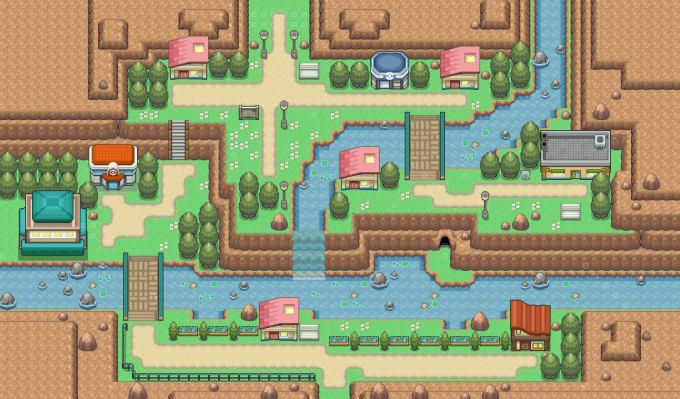 create a playable pokémon map for you