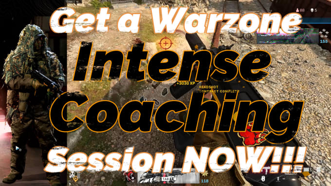 I will coach you cod and get you a warzone win over 300 solo wins