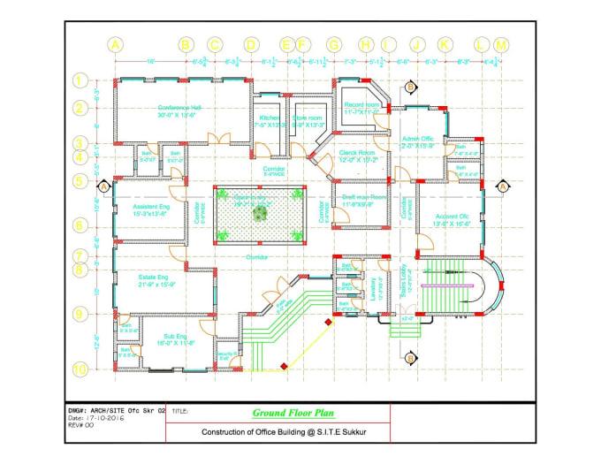 Design Architectural Floor Plan I Will Convert Pdf Sketch Architectural By Zohaibjan Fiverr