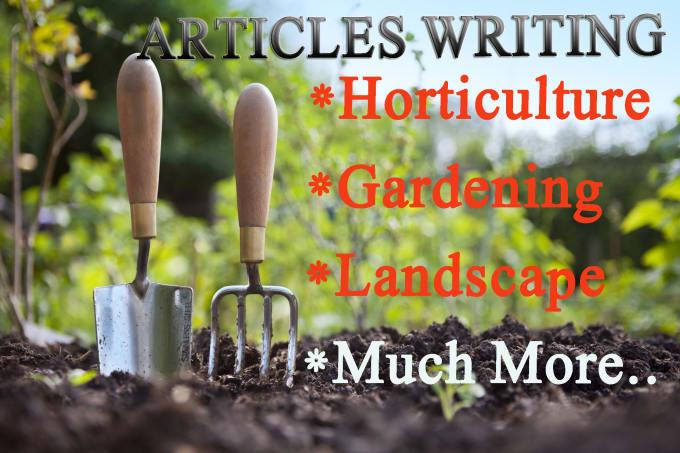 Landscape Articles