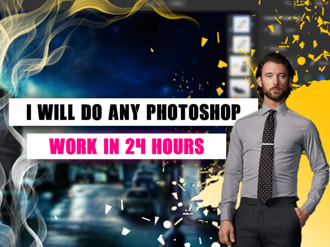 do any photoshop edit professionally in 24 hours