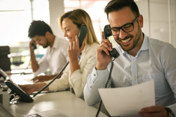 get sales and set appointments by cold calling
