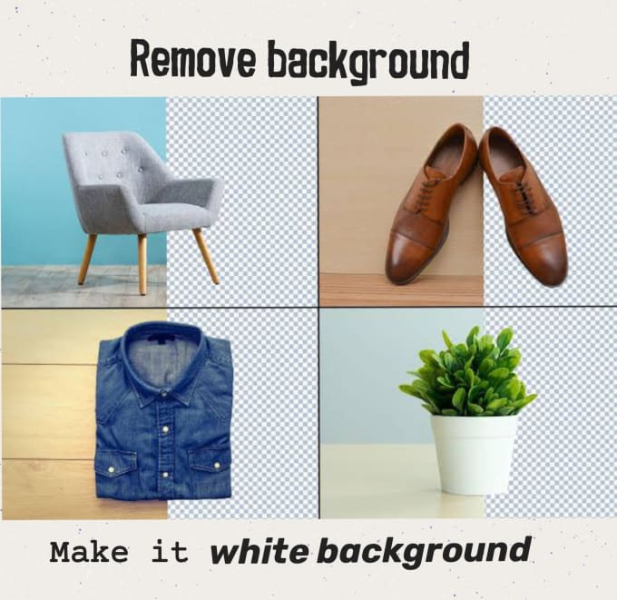 do background remove for your items