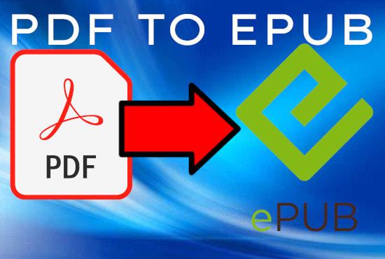 Voy a convertir su pdf a epub, ebook, mobi, Kindle
