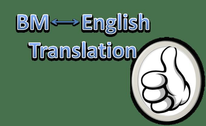 Translate A 500 Word Malaysian Bahasa Melayu Abstract To English By Simsfc
