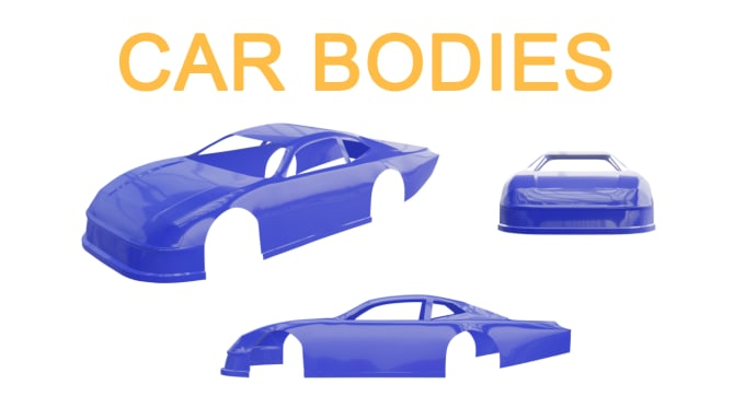 model car bodies really fast