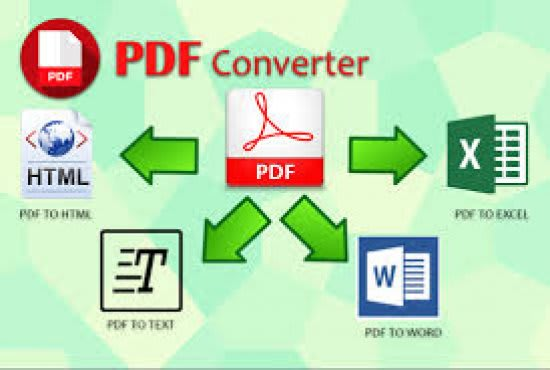 Convertiré imagen a documentos PDF word excel y redimensionar imagen