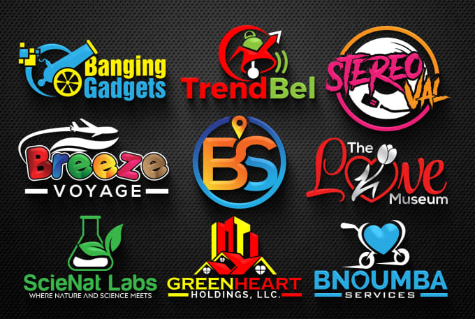 I will do a professional and modern logo design for your business