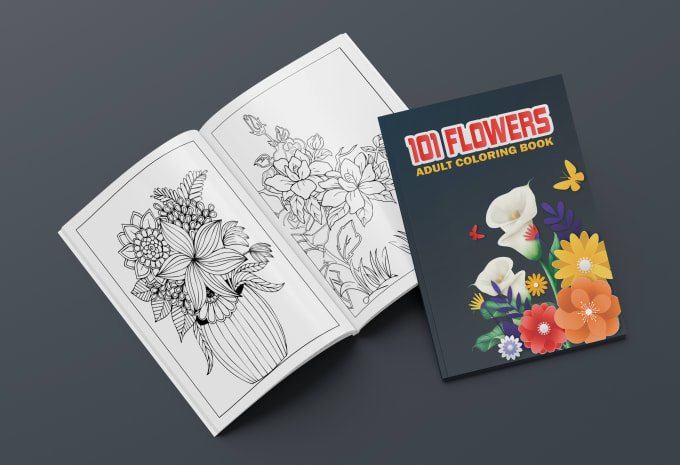 Design Coloring Book And Covers For Children And Adult By Creative_world9