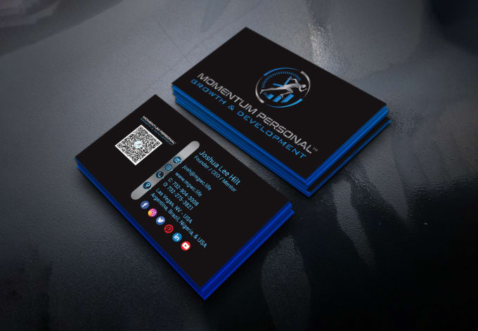 I will do business card design with qr code