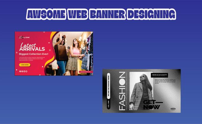 design google display ads, awesome web banner design