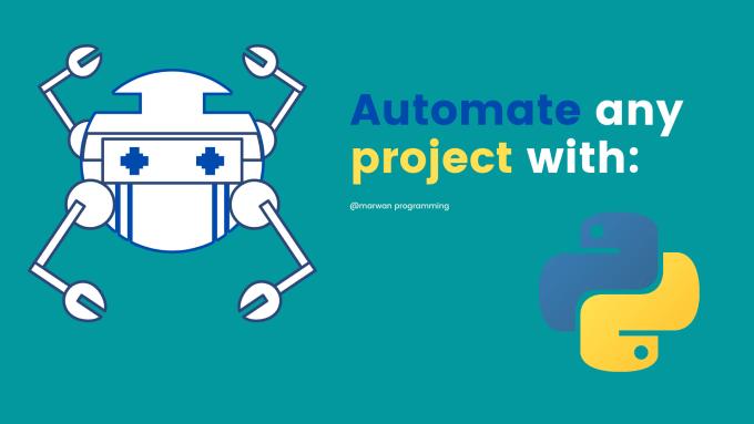 program a script to automate repetitive work with python