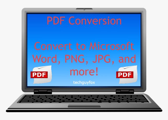 Voy a convertir pdf, word doc a jpg, png, gif, archivo de imagen