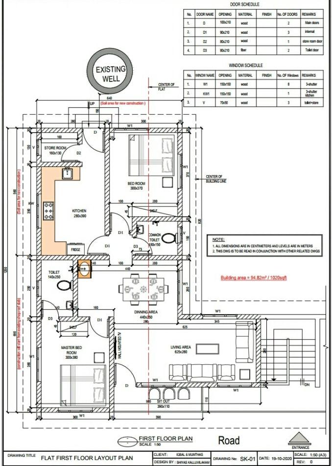 Draw Floor Plans Section Elevation And Site Plan Affordable Rates By Anjuprakash297 Fiverr