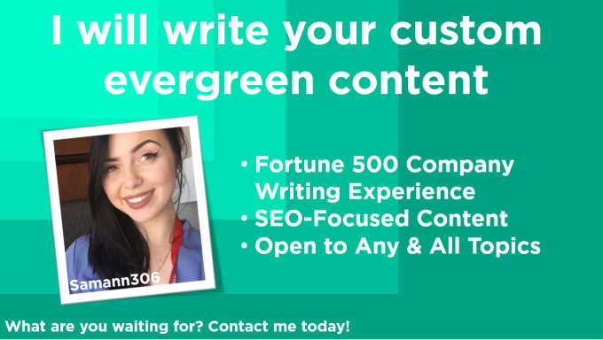 write your optimized blog posts