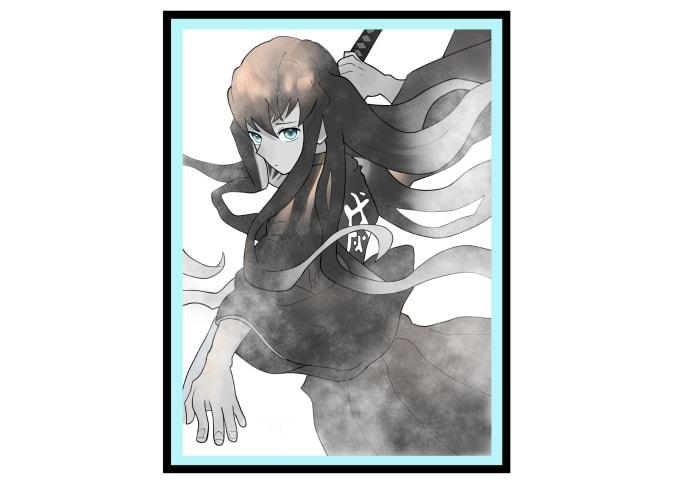 make anime illustrations for you