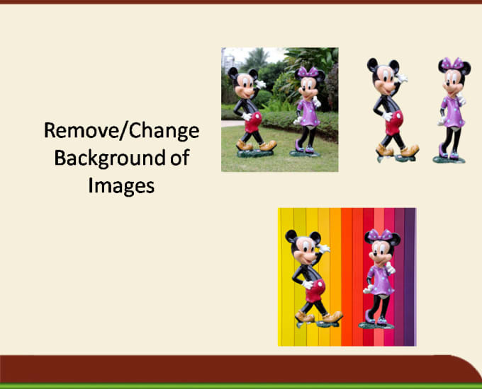 change and remove photo background urgently