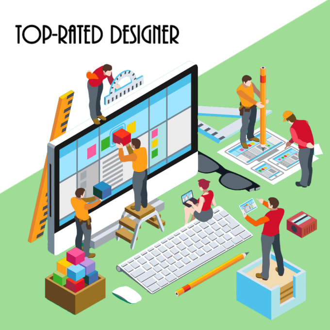 be your top rated graphic designer