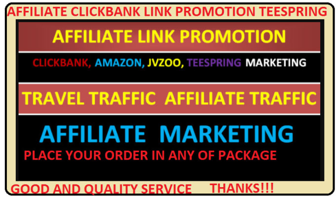 boost sales to clickbank affiliate link promotion