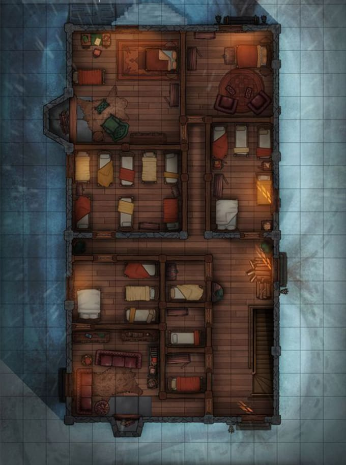 design your fantasy map with lots of style