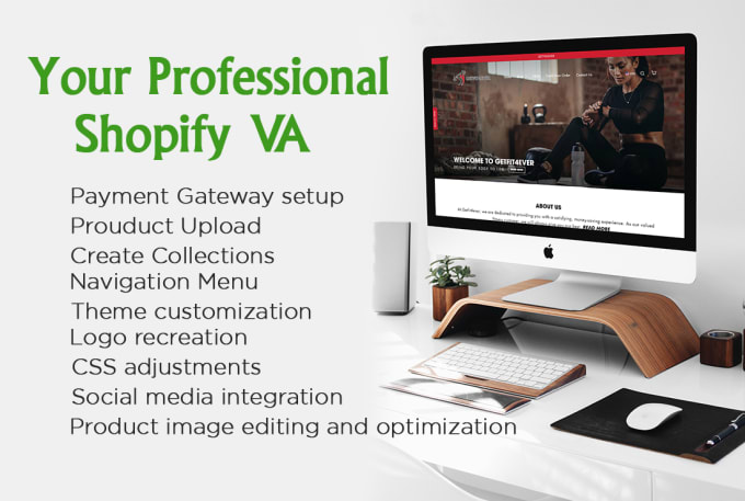 be your shopify VA, and create shopify store