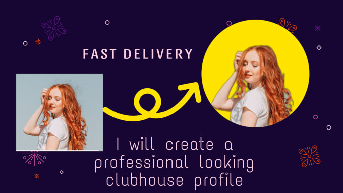 create a professional looking  profile picture