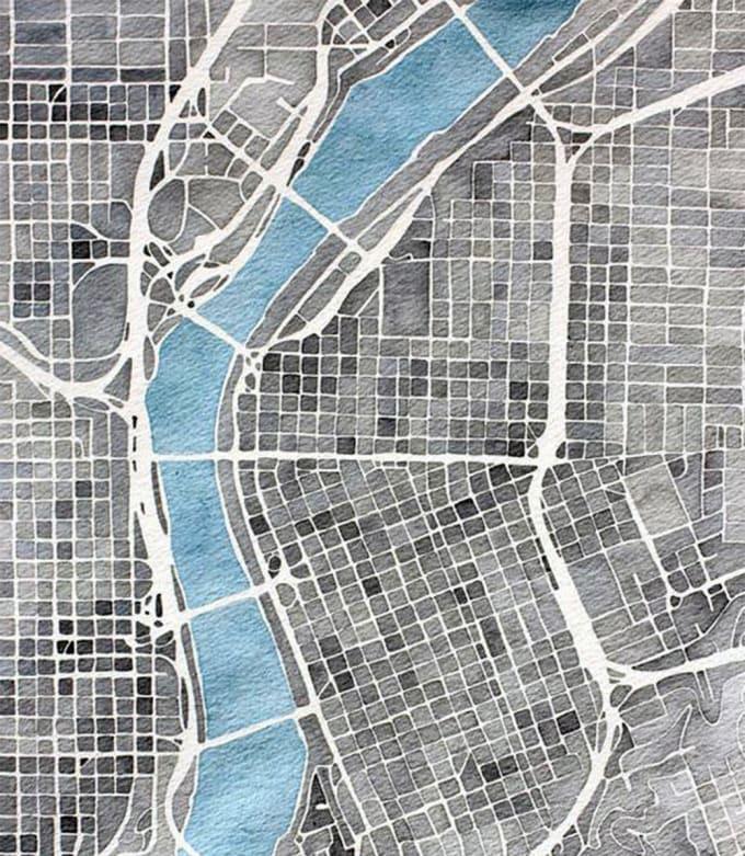 do a custom city map