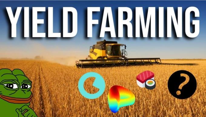 create yield farming defi exchange website smart contract, yield farm website