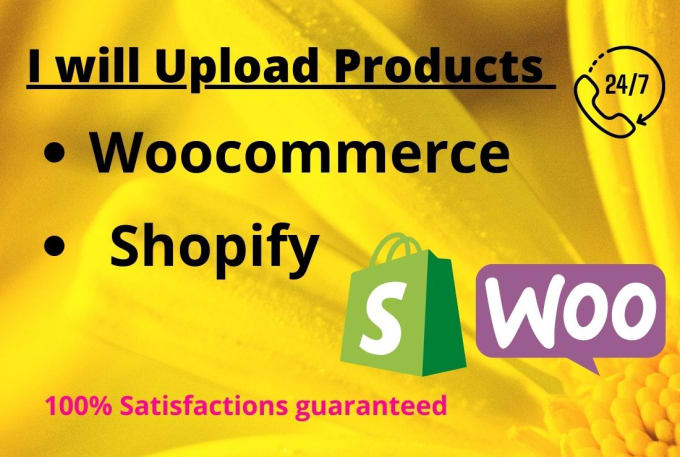 expertly product upload in your woocommerce and shopifystore