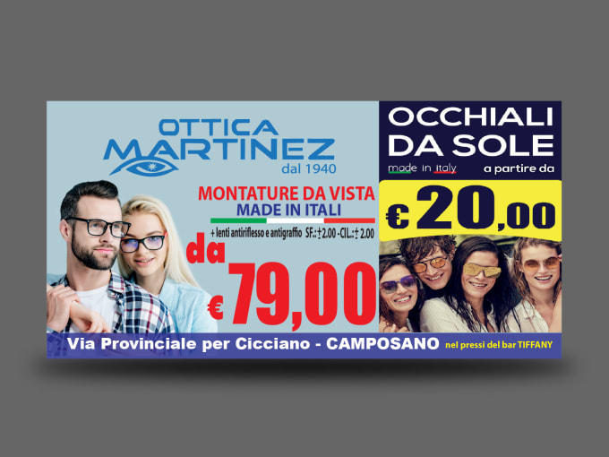 create any poster, banner 6x3 ,5x3, 4x2