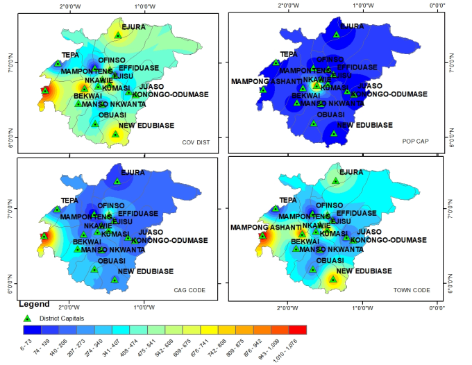 do image analysis, generate study area maps