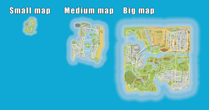 make a small minimap, for a dlc map made for gta 5 sp