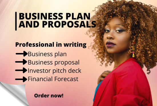 be your business plan writer