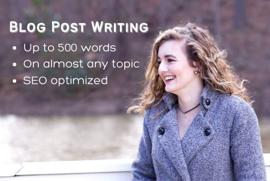 write a blog post or article on any topic