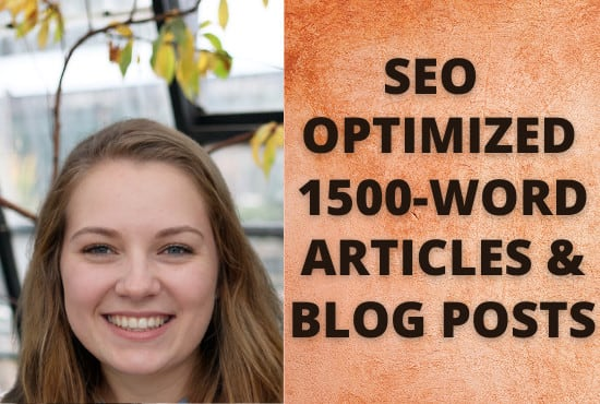 write 1500 words high quality articles and blog posts as a native speaker